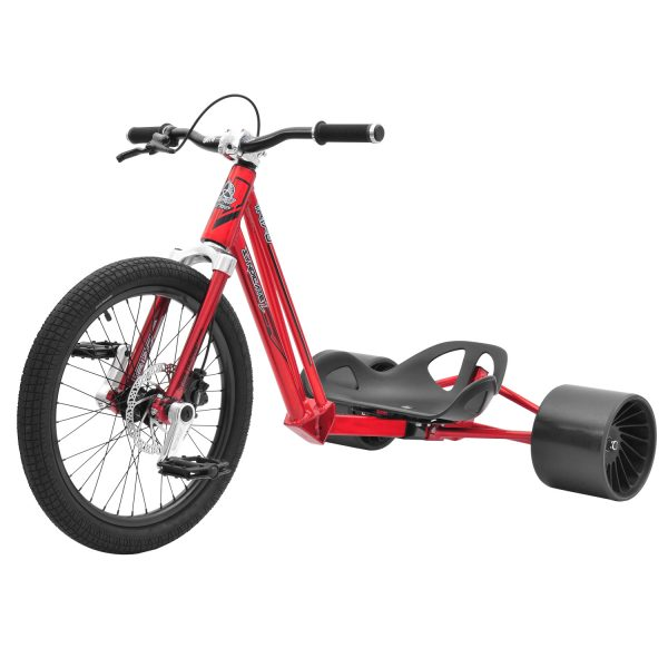 DRIFT TRIKE (driftovací tříkolka) SYNDICATE 2 – POLISHED RED