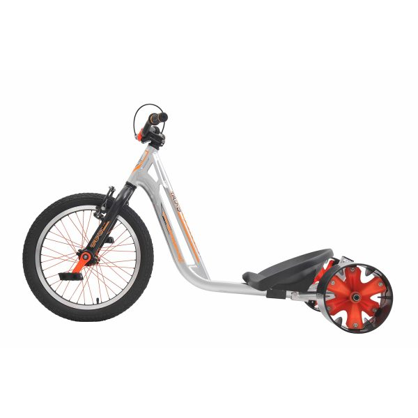 DRIFT TRIKE (driftovací tříkolka) COUNTERMEASURE 2 – Silver/orange