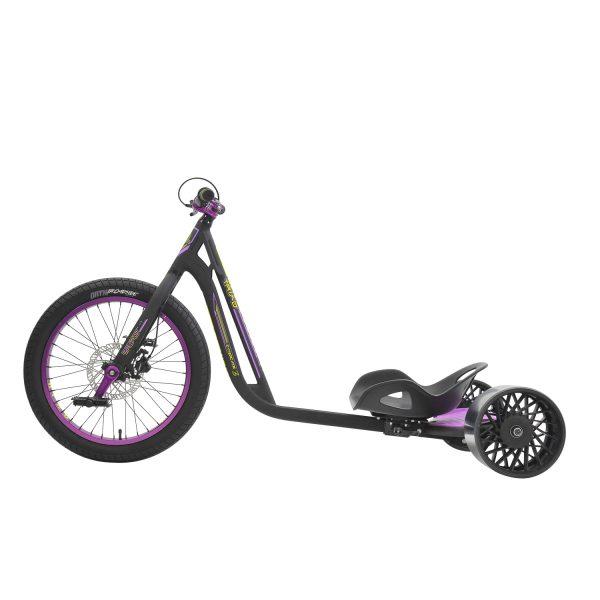 DRIFT TRIKE (driftovací tříkolka) SYNDICATE 3 Black/purple