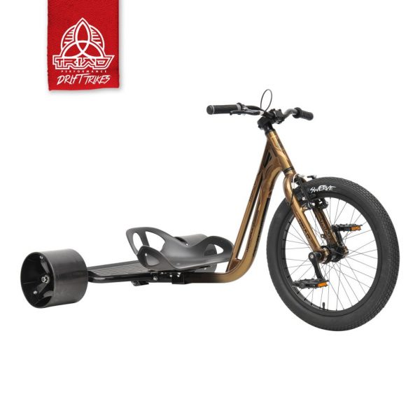 DRIFT TRIKE (driftovací tříkolka) UNDERWORLD 4 COPPER/BLACK